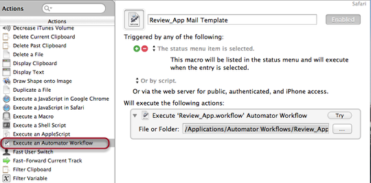 How to Create an Automatic Email Template To Use in Keyboard Maestro