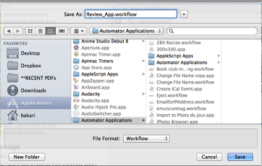 Automator | Mac Automation Tips